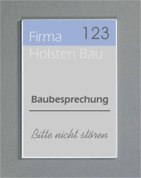 Wandschild   System Karlsruhe   29,7 cm x 15 cm