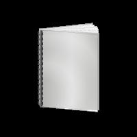 Abschlussarbeit | Plastik-Spiralbindung 201 bis 400 Seiten | unbedrucktes Cover
